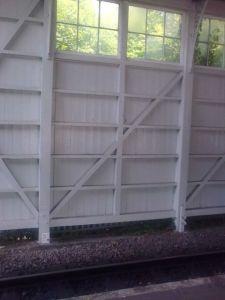Maidenhead Station Wall